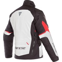 Dainese Tempest 2 D-Dry Jacket White Black Red+ 50% discount Extra Pants!