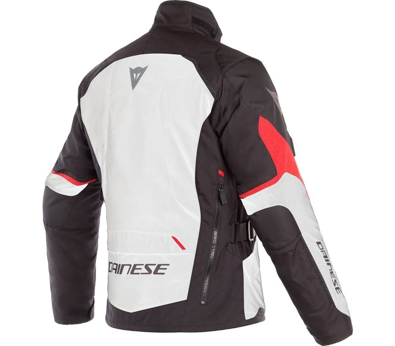 Buy Dainese Tempest 2 D-Dry Jacket White Black Red? Free Shipping!