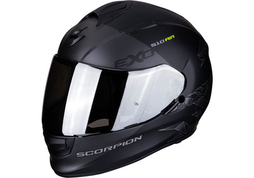 Scorpion Exo 510 Air Pique Casco Mate Nero Argento