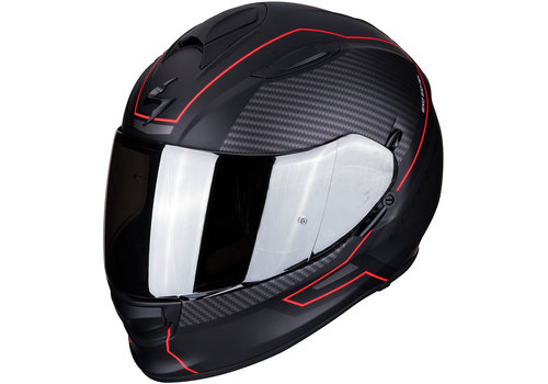 Scorpion Exo 510 Air Frame Helm Zwart Matt Rood