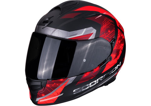Scorpion Exo 510 Air Clarus Helm Matt Zwart Rood