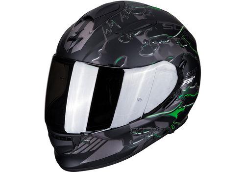 Scorpion Exo 510 Air Likid Helmet Black Matt Green