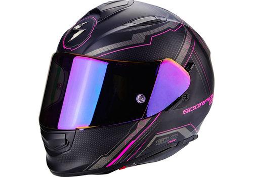 Scorpion Exo 510 Air Sync Helmet Matt Black Pink