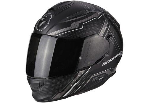Scorpion Exo 510 Air Sync Helm Matt Schwarz Silber