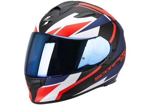 Scorpion Exo 510 Air Fujin Helm Zwart Rood Blauw