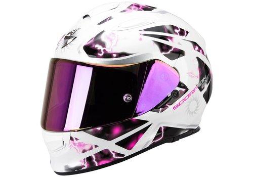 Scorpion Exo 510 Air Xena Helmet White Pink