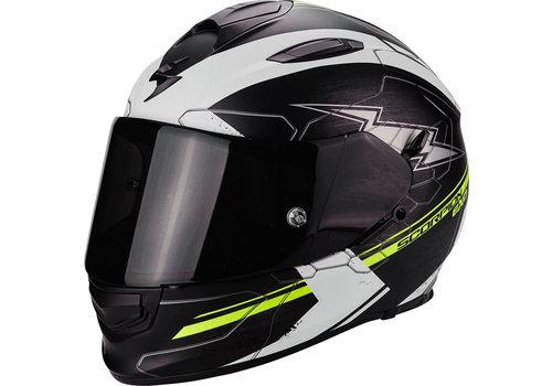 Scorpion Exo 510 Air Cross Helm Zwart Matt Wit