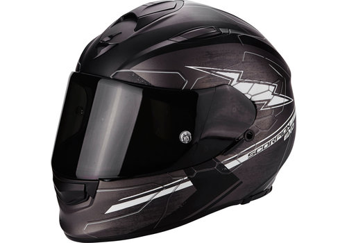 Scorpion Exo 510 Air Cross Casco Nero Mate Grigio