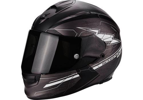 Scorpion Exo 510 Air Cross Helm Zwart Matt Grijs