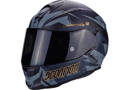 Scorpion Exo 510 Air Cipher Casco Nero Mate