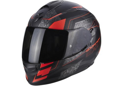 Scorpion Exo 510 Air Galva Helm Zwart Matt Rood