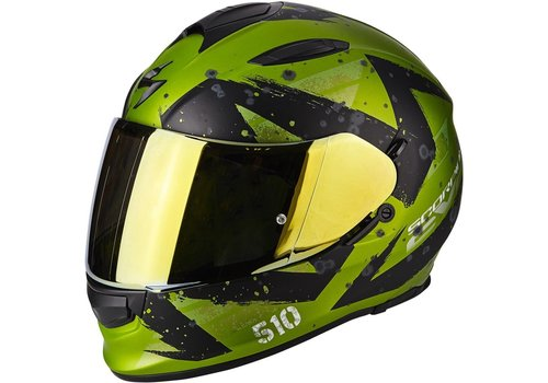 Scorpion Exo 510 Air Marcus Casco Verde Mate