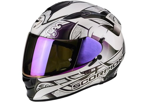 Scorpion Exo 510 Air Arabesc Casco Bianca