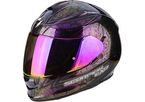 Scorpion Exo 510 Air Fantasy Helm Zwart Rood