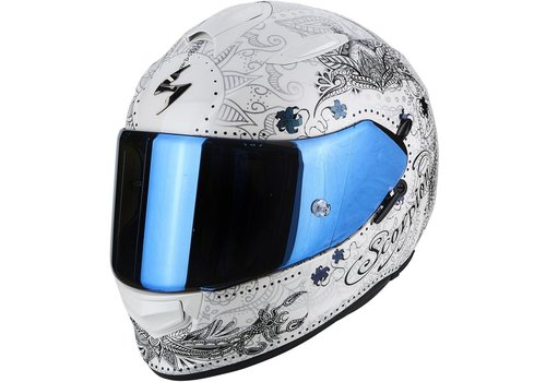 Scorpion Exo 510 Air Azalea Casco Bianca