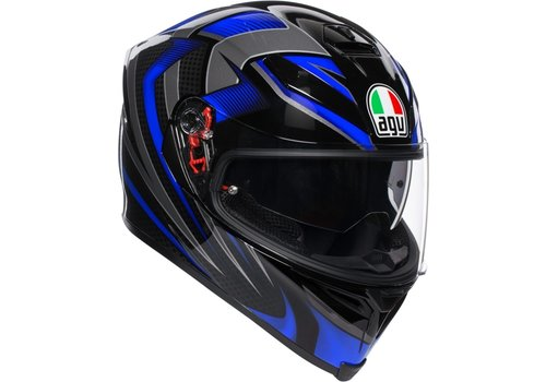 AGV K-5 S Hurricane 2.0 Helmet Black Blue