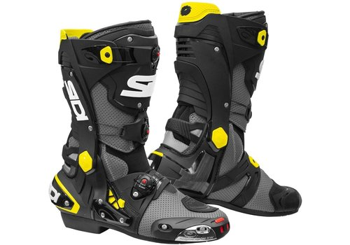 Sidi Rex Air Boots Grey Black Yellow