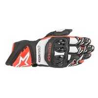 Buy Alpinestars GP Pro R3 Gloves Black White Red? Free Shipping!