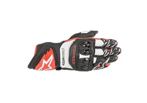 Alpinestars GP Pro R3 Gloves Black White Red
