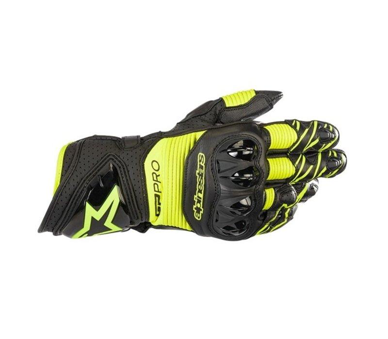 Перчатки Alpinestars GP Pro R3 Черный желтый + Бесплатная доставка!
