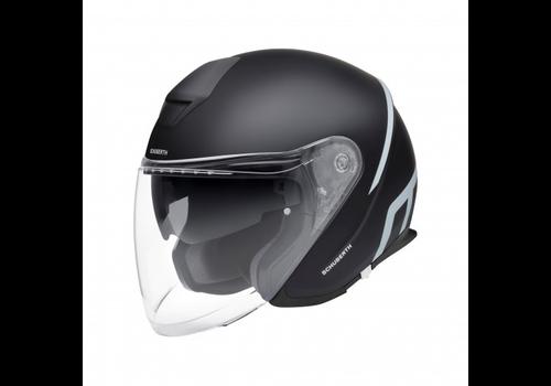 Schuberth M1 Pro Strike Helm Black Grey