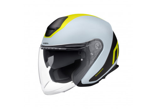 Schuberth M1 Pro Triple Helm Grey Black Yellow