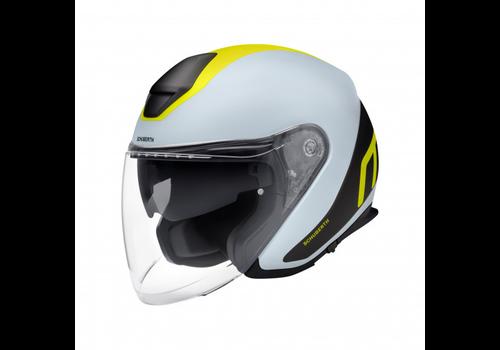 Schuberth M1 Pro Triple Шлем Grey Black Yellow
