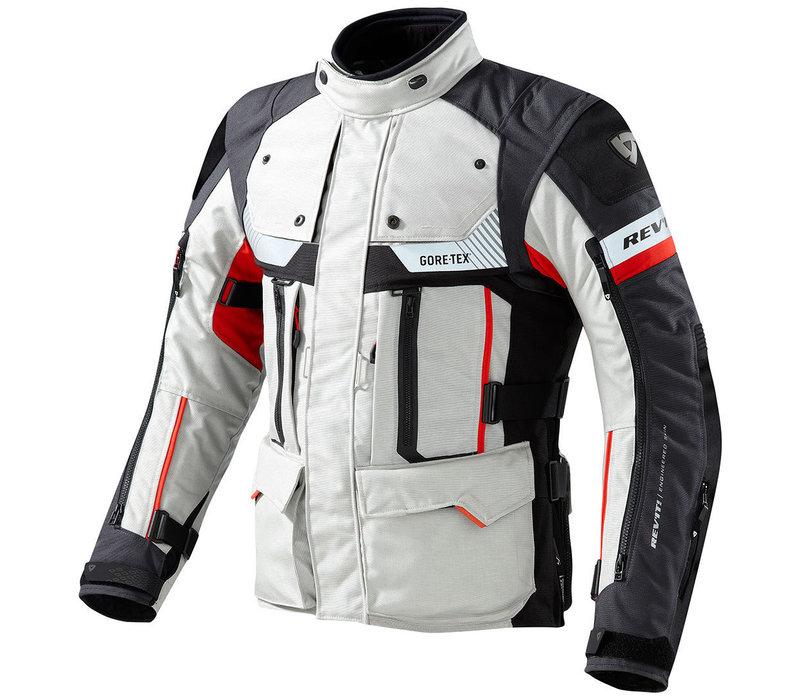 Buy Revit Defender Pro GTX Jacket Grey Red? Free Shipping!
