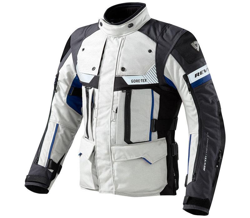 Buy Revit Defender Pro GTX Jacket Grey Blue? Free Shipping!