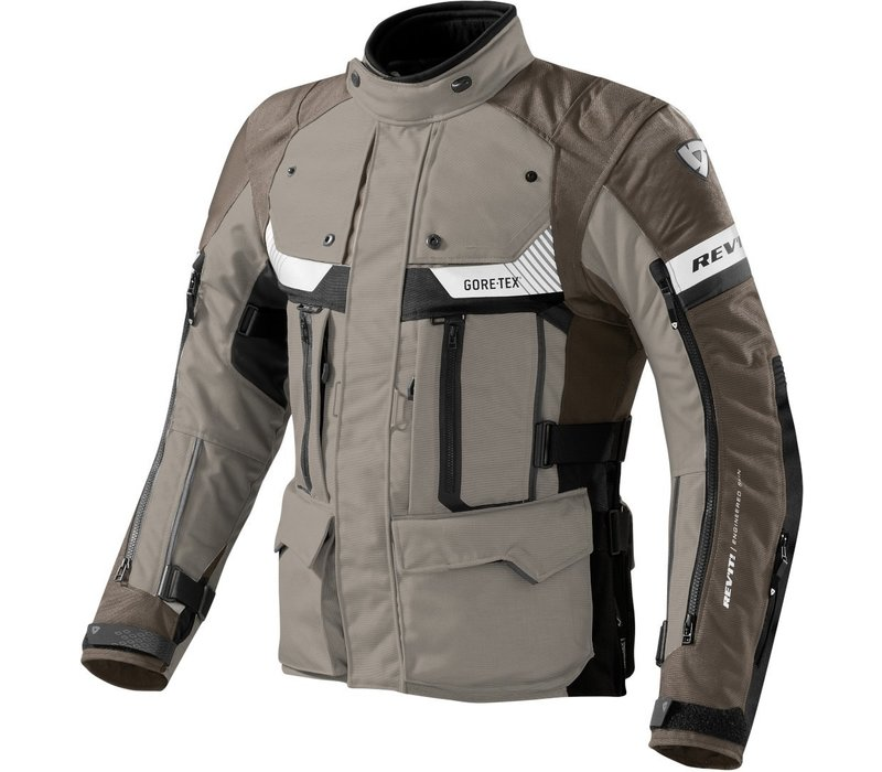 Buy Revit Defender Pro GTX Jacket Sand Black? Free Shipping!
