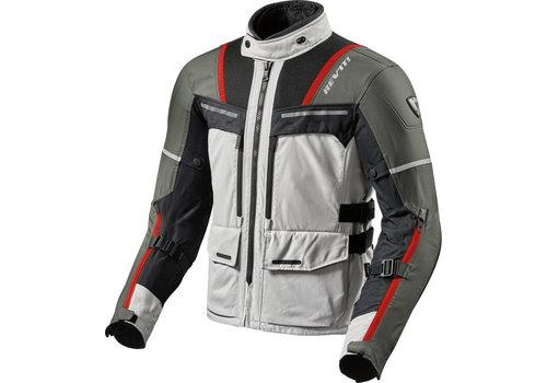 Revit Offtrack Jacket Silver Red