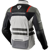 Buy Revit Offtrack Jacket Silver Red? Free Shipping!