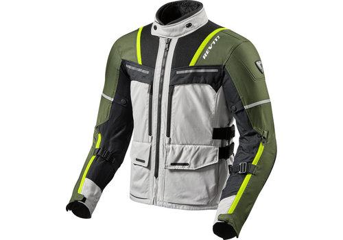 Revit Offtrack Jacket Silver Green