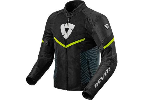 Revit Arc Air Jacket Black Yellow Fluo