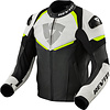 Revit Buy Revit Convex Leather Jacket Black Fluo Yellow? Free Shipping!