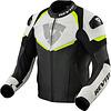 Revit Кожаные Куртка Revit Convex Черный флуо желтый + Бесплатная доставка!