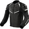 Revit Кожаные Куртка Revit Convex Черный Белое + Бесплатная доставка!
