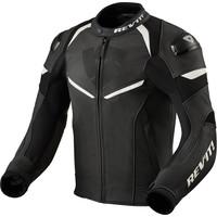 Кожаные Куртка Revit Convex Черный Белое + Бесплатная доставка!