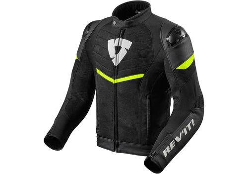 Revit Mantis Jacket Black Fluo Yellow