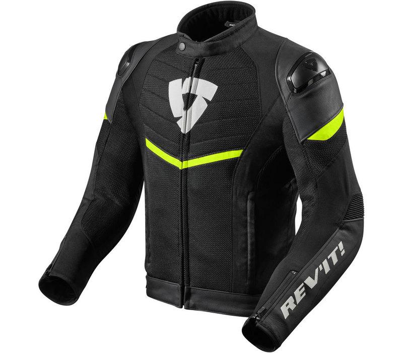 Куртка Revit Mantis черный флуо желтый + Бесплатная доставка!