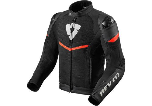 Revit Mantis Jacket Black Fluo Red