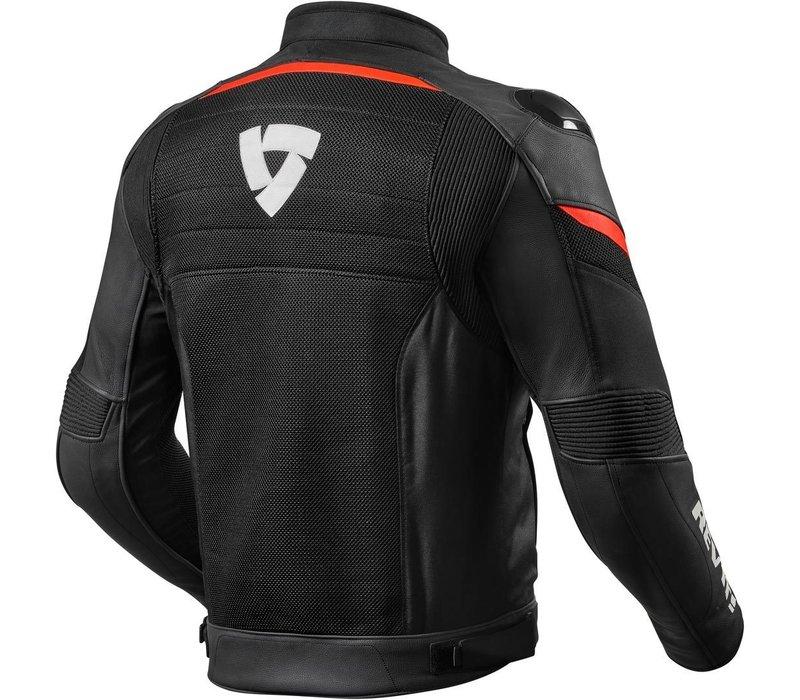 Buy Revit Mantis Jacket Black Fluo Red? Free Shipping!