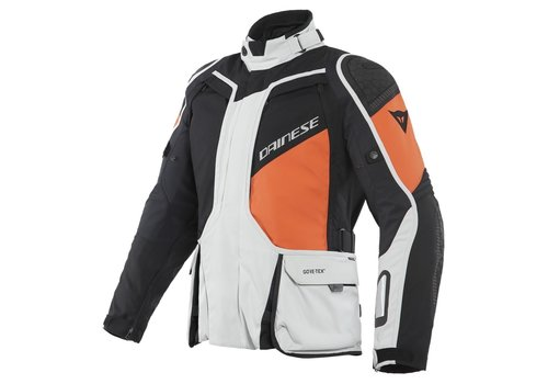 Dainese D-Explorer 2 GTX Jacket Grey Orange Black