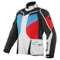 Dainese Dainese D-Explorer 2 GTX Jacket Grey Blue Red + 50% discount Extra Pants!