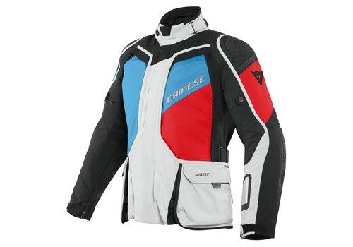 Dainese D-Explorer 2 GTX Jacket Grey Blue Red