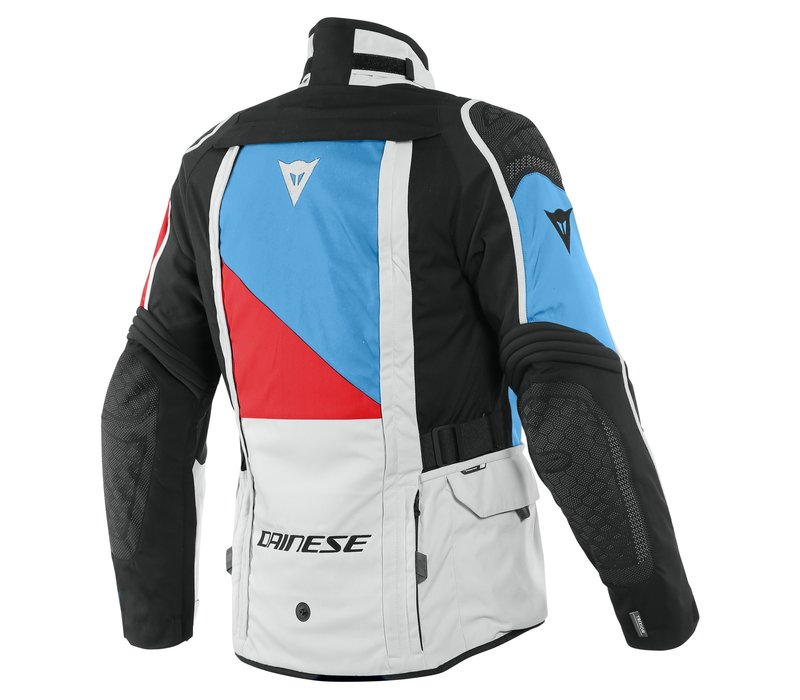 Dainese D-Explorer 2 GTX Jacket Grey Blue Red + 50% discount Extra Pants!