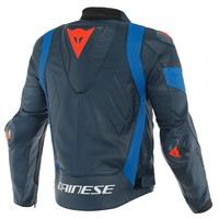 Dainese Super Race Leather Jacket Black Blue + 50% discount on the Pants!