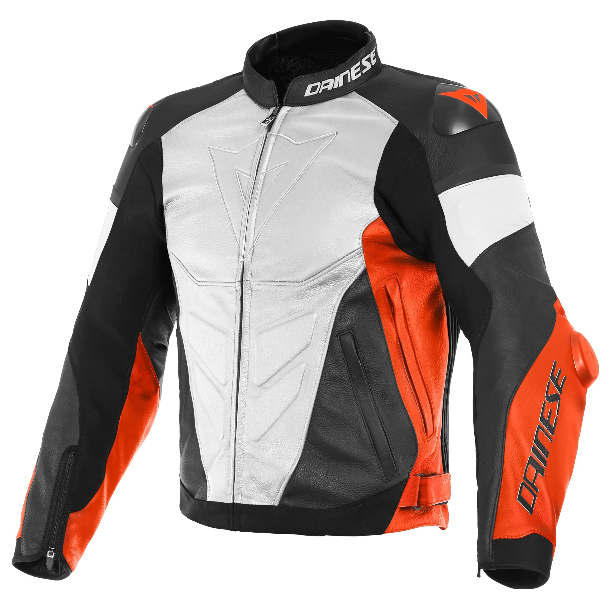 5695fcf16 Dainese Super Race Leather Jacket White Red+50% discount on the ...