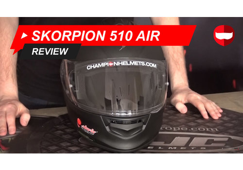 Scorpion Scorpion Exo 510 Air video Review