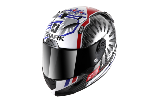 Shark Race-R Pro Carbon Replica Zarco GP De France Helmet DUR